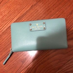 Kate Spade Neda Wallet in Teal